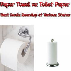 Toilet Paper vs Paper Towels Price Roundup at Various Stores - http://couponsdowork.com/coupon-deals/toilet-paper-vs-paper-towels-price-roundup-at-various-stores/