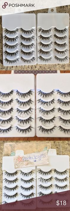 20 Pairs ✨ Demi Wispy False Eyelashes ✨BRAND NEW ✨ 20 pairs Synthetic / no glue included ❗️NO TRADES❗️  Will ship in 2-4 biz days _____________ lash eyelash makeup falsies false eyelashes face eyes beauty eyeshadow eyeliner big black mink mascara natural house of lashes noir fairy dupe ardell Victoria's Secret wispies wispy tigress Makeup False Eyelashes