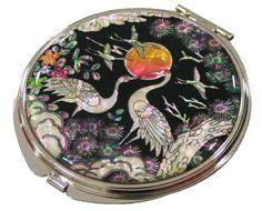 Mother of Pearl Makeup Mirror Sun & Crane Design Cosmetic Mirror Handbag Purse Handheld Compact Hand Pocket Mirror(big) JMcore Makeup Mirror http://www.amazon.com/dp/B00KGSNV8Y/ref=cm_sw_r_pi_dp_O7GXvb0G0A1AB