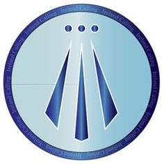 The Awen (The Three Rays of Light) A neo-Druid symbol whose ...