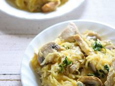 Low Carb Dairy Free Chicken Tetrazzini
