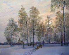 ~ Eduard Panov ~ Snowy landscapes