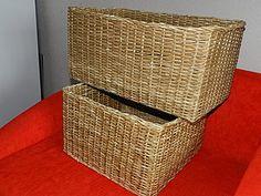 МК по плетению прямоугольной (квадратной) корзины | Ярмарка Мастеров - ручная работа, handmade