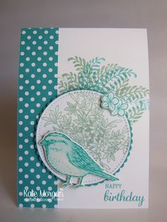 Dear Crafters, Today I have created a multi-layered card used the Birds & Blooms Thinlits, Layering Circles Framelits, Stitched Shapes Framelits and the Best Birds and Awesomely Artistic Stamp …