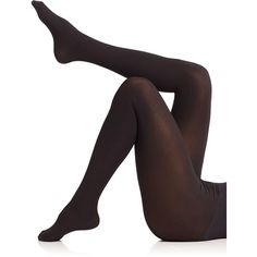Commando Perfectly Opaque Matte Tights (53 CAD) ❤ liked on Polyvore featuring intimates, hosiery, tights, apparel & accessories, black, commando stockings, commando pantyhose, opaque hosiery, black hosiery and black stockings