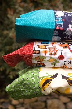 Pillow cases from If Sew.  The possibilities are endless!