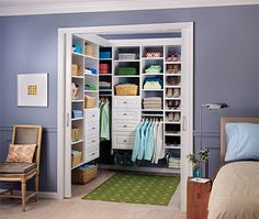 Design your own closet systems, pantry, entryway, entertainment system, garage storage or laundry room! Prices are great!