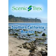Scenic Trex Southern California Beaches DVD - Virtual Scenic Walking, Cycling, Treadmill Workout (DVD)