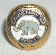 Vintage Benson's Wild Animal Farm Hudson NH Souvenir Enamel Ring | eBay