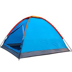 Introducing Generic Family Water Resistant 5 Person Tent Blue. Great Product and follow us to get more updates!
