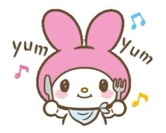With Tenor, maker of GIF Keyboard, add popular Melody animated GIFs to your conversations. Share the best GIFs now >>> Hungry Gif, Eating Gif, Chibi, Barbie Birthday Party, Hello Kitty My Melody, Sanrio Wallpaper, Sanrio Characters, Little Twin Stars, Line Sticker