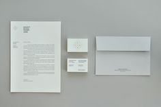 Gold foiled stationery for dental practice EDRP designed by Bruto.