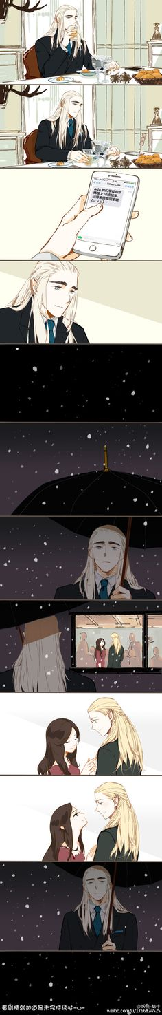 Tales of Mirkwood Au - Thranduil and Legolas - Трандуил, Леголас и Арвен. АУ
