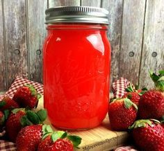 Strawberry MOONSHINE!-Incredible Recipes from Heaven