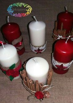 Candele natalizie...