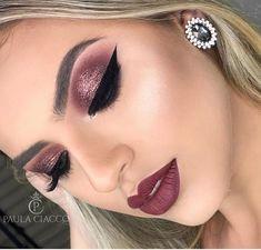 Trendy makeup looks red lips mac eyeshadow 59 Ideas Trendy Make-up sieht rote Lippen Mac Lidsc Glam Makeup Look, Cute Makeup, Pretty Makeup, Beauty Makeup, Makeup Inspo, Makeup Inspiration, Makeup Ideas, Eyeshadow Makeup, Eyeliner