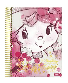 Caderno Moranguinho Vintage Foroni