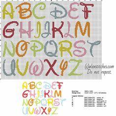 Voici des grilles d' univers bien connus à broder pour des enfants ou autre... des alphabets:ICI Nourriture:ICI Ou autres:ICI Bonnes broderies!
