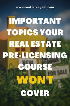 A must read! Check out this list of important details your real estate pre-licensing course won't cover and how to overcome them. #realestate #getmyrealestatelicense #realestatecourse #preliceningcourse #newcareer #realestatecareer #becomearealestateagent #becomearealtor #realtor #realestateagent #realestateschool Real Estate School, Real Estate Career, New Career, Creating A Business Plan, Business Planning, Real Estate Courses, Becoming A Realtor, Mentor Program, Brokerage Firm