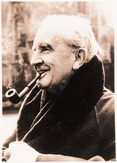 J.R.R. Tolkien, writer, possible mystic | I like to make sure I get a Tolkien and/ or Lord of the Rings reference in every fifth homily or so.
