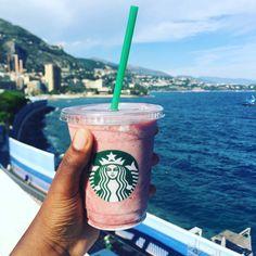 Throwback to Monaco 2017. I enjoyed my Starbucks while watching the beautifull view! ❤   #Starbucks #Monaco #summervibes