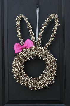 Easter Wreath  Bunny Wreath  Spring Wreath by EverBloomingOriginal