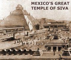 """A festival is celebrated at the same time as our Navaratri; it is called """"Rama-Sita"""" The Mexican national throne preserved in the National Museum of Mexico bears the typical Hindu Bu… Temple India, Hindu Temple, Hinduism History, True Interesting Facts, Intresting Facts, Indian Temple Architecture, Rama Sita, Lord Vishnu Wallpapers, India Facts"""
