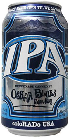 "Oskar Blues Brewery ""OSKAR BLUES IPA"" ☆☆★★★"