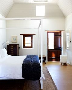 A Cape Town Travel Guide - What To See In Cape Town - ELLE DECOR.love the architecture especially the beautiful dutch door. Room, House, Interior, Home, Home Bedroom, House Interior, Bedroom Inspirations, Modern Bedroom, Bedroom