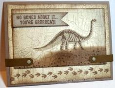 No Bones About It – Stampin' Up! Card