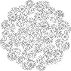 Dover Publications Creative Haven Paisley Mandalas Coloring Book
