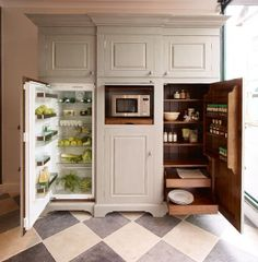 Chalon Housekeeper's Cupboard Open | Flickr - Photo Sharing