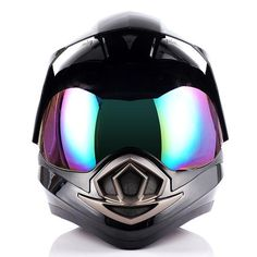 Features - Advance Dual Sports Helmets Design; (Shields easily can be removed or raised to convert to MX helmets.) - Light weight durable aerodynamic thermoplastic alloy shell; - Heavily cushioned and comfortable interior; - Beautiful glossy UV protective finish; - Removable and washable padding; - DOT Approved; Size Chart - XS 53-54 CM, 21.3/21.7 Inch - S 55-56 CM, 21.7/22.0 Inch - M 57-58 CM, 22.4/22.8 Inch - L 59-60 CM, 23.2/23.6 Inch - XL 61-62 CM, 24.0/24.4 Inch - XXL 63-64 CM…