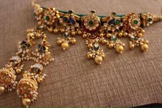 Jewellery Every Modern Indian Bride Should Look For This Wedding Silver Jewellery Indian, Indian Wedding Jewelry, Gold Jewellery Design, Bridal Jewelry, Gold Jewelry, Handmade Jewellery, Jewellery Earrings, Heavy Earrings, Diamond Jewellery