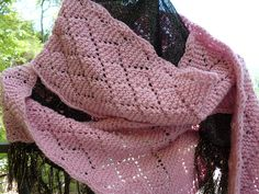 Free Pattern: Rav Day Lace Workshop Scarves by Elizabeth Lovick