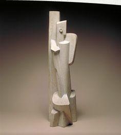 Jacques Lipchitz - Seated Woman - 1916 - Stone