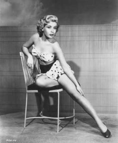 Wow. Frances Bavier, Aunt Bee from Andy Griffith Show, way before she moved to Mayberry.