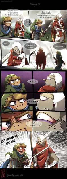Swear It by YAMsgarden.deviantart.com on @DeviantArt I have trust issues with Ghirahim... especially when it comes to him being on my side in Hyrule Warriors...