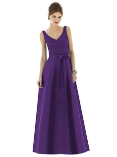 Alfred Sung Style D623 http://www.dessy.com/dresses/bridesmaid/d623/?color=barcelona&colorid=1066#.Um7XnRS9Kf1