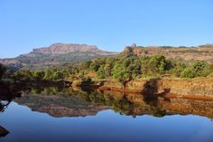 TrekBook.in: One day trek - Ratangad near Nasik ... Reflections .... fascinating to my mind ...