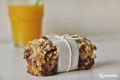 Μπάρες βρώμης με μαρμελάδα / Marmalade oatmeal squares