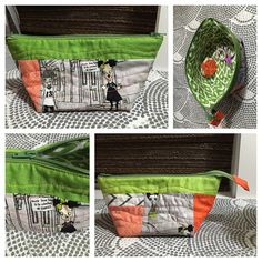 A finish!  My first #openwidezipperedpouch - pattern by Anna @noodlehead531  Hope you like it partner! #extra #igminiswap #teamrosanne #quiltyfriends