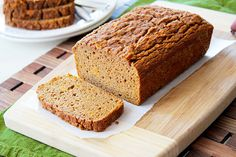 Paleo Cinnamon Spice Sweet Potato Bread - Light and moist sweet potato bread, made with coconut flour, and bursting with fall flavors!