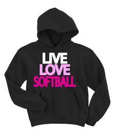 Live Love Softball Hoodie Sweatshirt (XX-Large, Black) Activewear Apparel, http://www.amazon.com/dp/B004MCMPUU/ref=cm_sw_r_pi_dp_72U-qb11TDDSJ