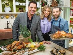 Chef Marcel Vigneron is providing you a recipe for a mouth-watering turkey for Thanksgiving. Thanksgiving Turkey, Thanksgiving Recipes, Home And Family Tv, Hallmark Homes, Turkey Brine, Cooking Turkey, Marcel, Main Dishes, Seafood