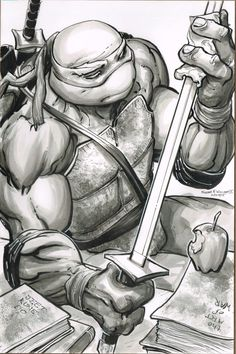 Teenage Mutant Ninja Turtles -Leonardo