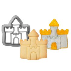 Decora Burg Ausstecher, 70x63mm Cookie Cutters, Little Princess, Kid Birthdays