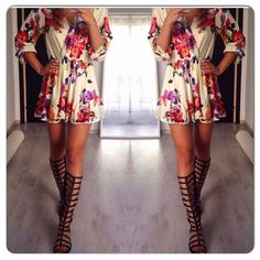 How to Chic: FLORAL PLAYSUIT