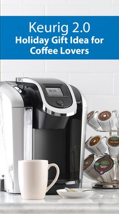 The new Keurig is great for brewing cups of coffee for the entire family! In addition to single sizes, the new carafe option serves up to 4 people at once. It also comes with a bunch of new sett I Love Coffee, Coffee Shop, Coffee Cups, Coffee Maker, Coffee Station Kitchen, Home Coffee Stations, Brewing Tea, Everything Is Awesome, Kitchen Gadgets