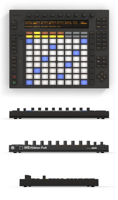 Ableton Push – a new hardware instrument for Live 9, designed by Ableton and engineered by Akai Professional.